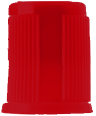 SANLI Plain Tube Red Closure
