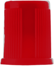 Plain Tube Red Closure